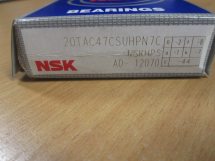 NSK Single Ball Screw Support Bearing 20mm x 47mm x 15mm