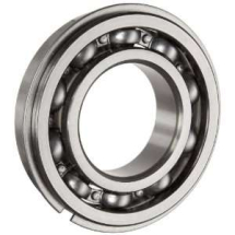 NSK 62/28C3 Bearing c/w Groove & Snap Ring 28mm x 58mm x 16mm