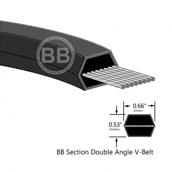 Double B Section V Belts BB