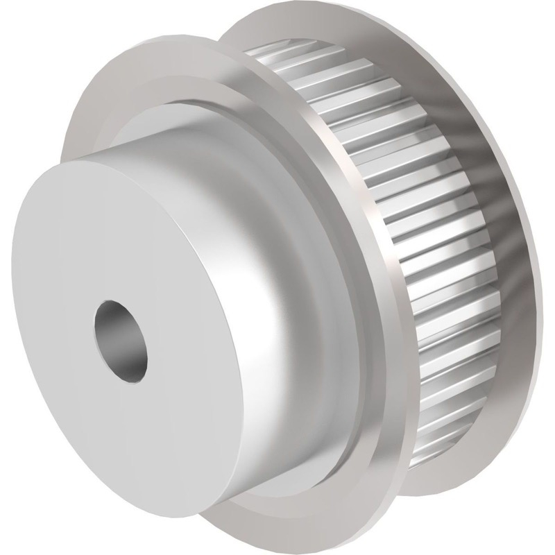 "'XL' Pulleys (5,08mm pitch) for 3/8"" wide belts"