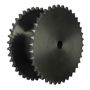 British Standard Double Simplex Pilot Bore Sprockets