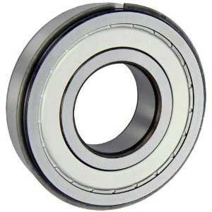 6000 - 6008 2ZNR(Bearings with Metal Shields + Snap Ring & Groove)