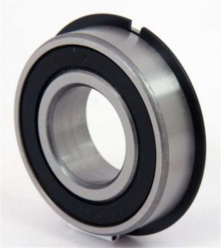 6200 - 6215 2RSNR Bearings sealed with snap ring and groove
