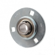 SLFE self lube pressed steel flange bearing units (zinc plated housings)