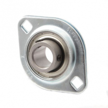 SLFL self-lube pressed steel flange bearing units (zinc plated housings)