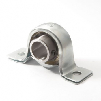 LPB Self lube pressed steel pillow block units (zinc plated housings)