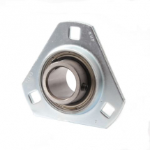 SLFT self lube pressed steel flnage bearing units (zinc plated housings)