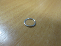 3/8 Round Wire Ring 1mm thick