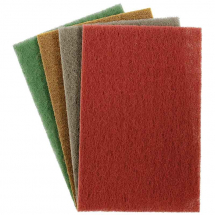 Hand Pad Brown Coarse 150mm x 230mm  -  pack 10