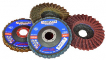 BROWN POLIRICO Non Woven Flap Disc 115 x 22mm COARSE
