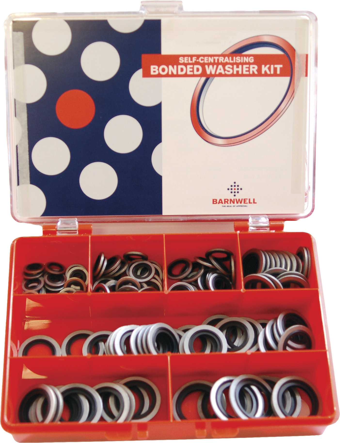 Bonded Seal Metric Assorted Kit MBMK-45