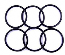 O Ring BS117 20.29mm Inside x 2.62mm VITON Packet of 6