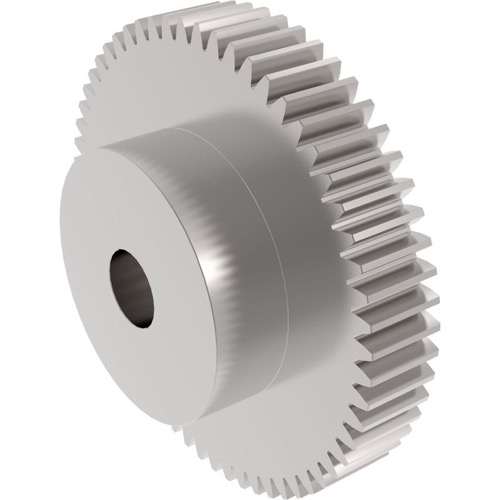 S1055B Spur Gear Steel 1 Mod 55 Tooth