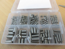 Stainless Steel Grub Screw Kit 10241