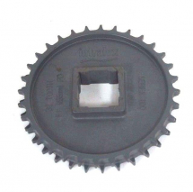 Series 1100 Acetal Sprocket 40mm Square Bore, Natural, 32T
