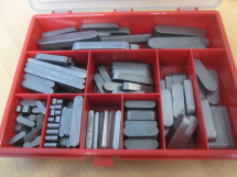Machine Keys Round Ends Metric Asssorted Kit  54467
