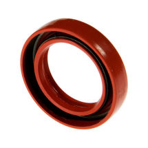 Red SILICONE Oil Seal Single Lip 25mm x 42mm x 7mm
