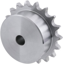 Simplex Pilot Bore Sprocket 8mm Pitch 18 teeth (05B)