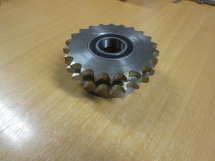 Duplex Idlers 22 teeth c/w 2 6005 2RS 25mm bore bearings