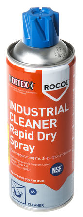 ROCOL 34131 Industrial Cleaner Rapid Drying Spray 300ml