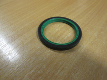 Sealing Ring, Double Lipped 40mm x 52mm x 5mm Green/Black