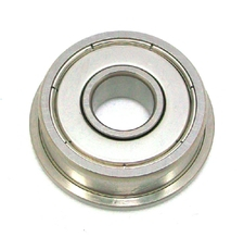 SF608 2RS Miniature Stainless 8mm x 22mm x 7mm c/w flange