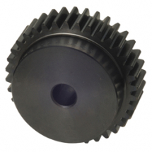 Plastic Spur Gear 3 Mod 15T 45mm overall length inc boss