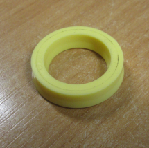 Polyurethane Metric U Seal CPU137098 CLARON YELLOW
