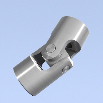 Universal Joint Single Knuckle Solid 16mm x 56mm (Inline)