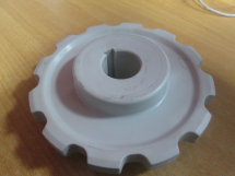 UNICHAIN Plastic Sprocket 12 Tooth Bored to 30mm + Keyway