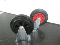 "8"" Diameter Wheel Castors/plate fixing"